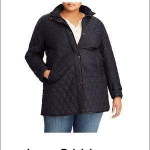 Ralph Lauren Navy Blue Quilted Jacket